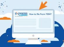 Fle Form 7004 online